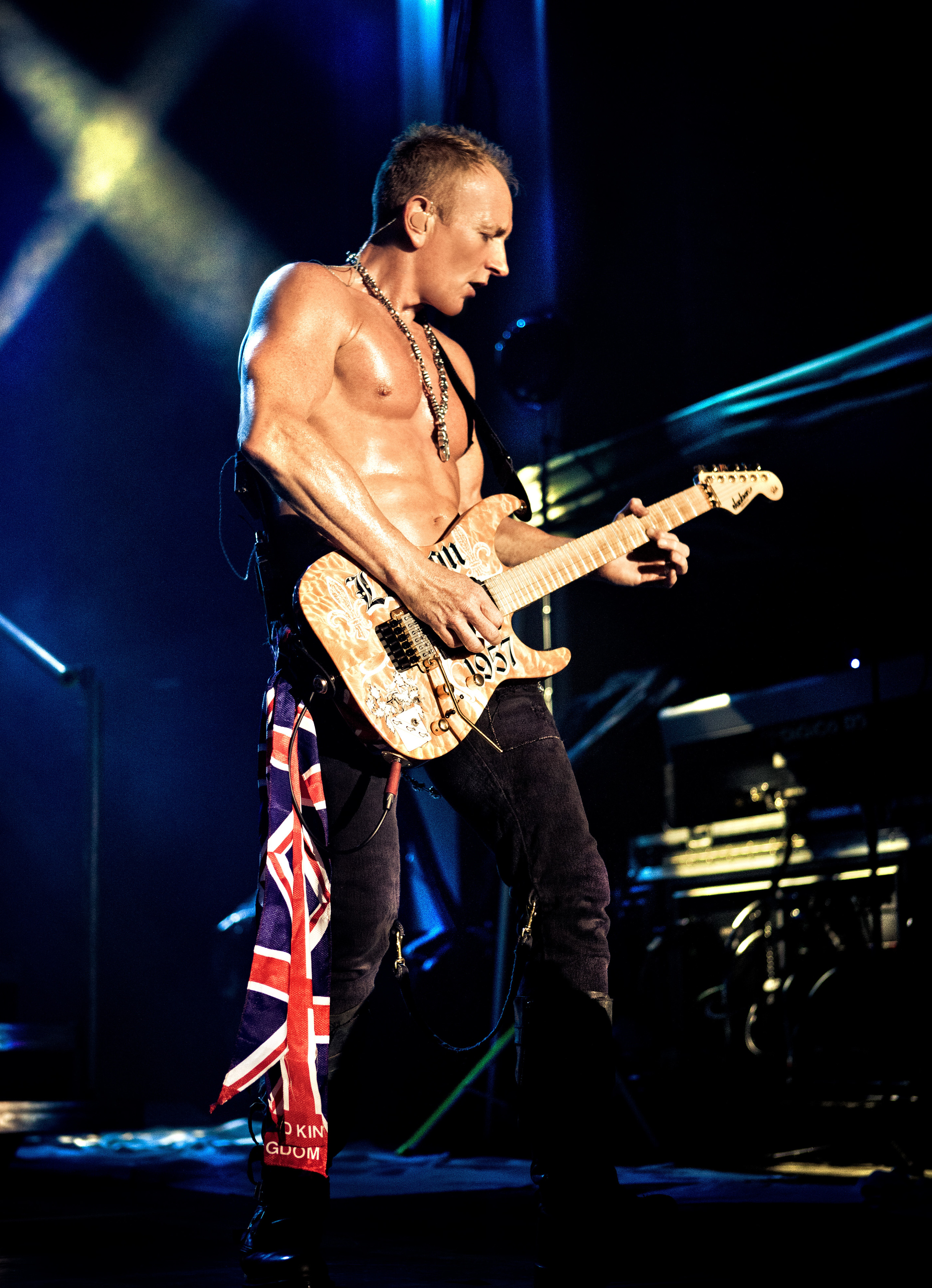Phil Collen Def Leppard Albuquerque