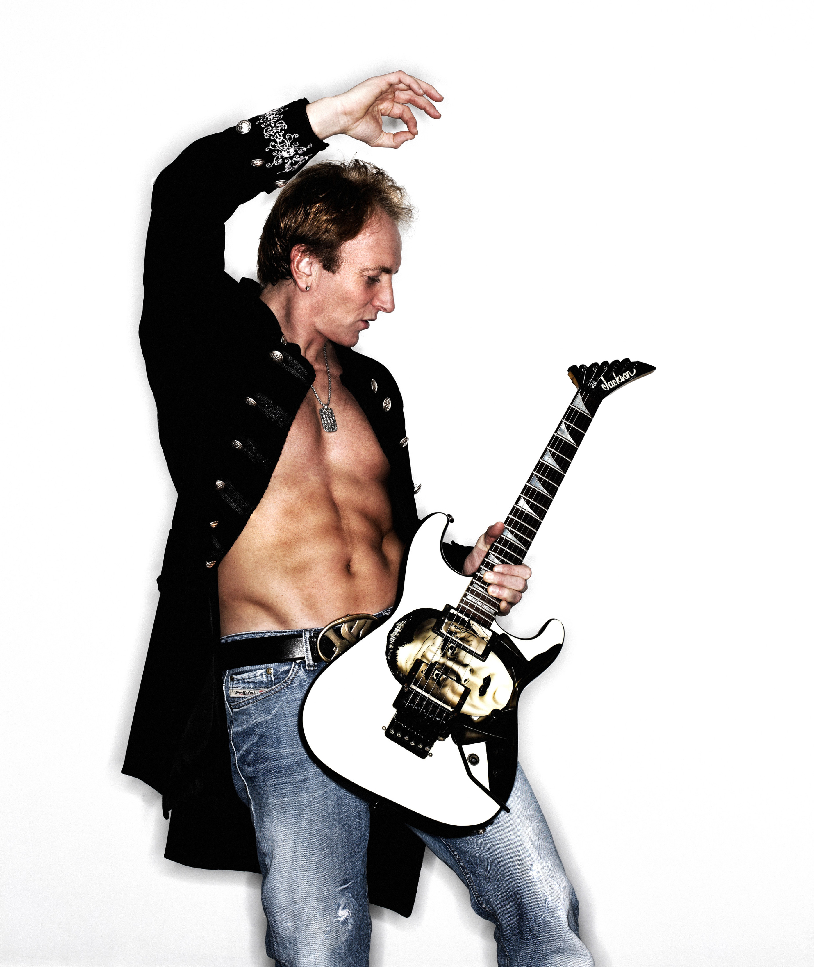 Phil Collen Jackson Bela Lugosi Guitar
