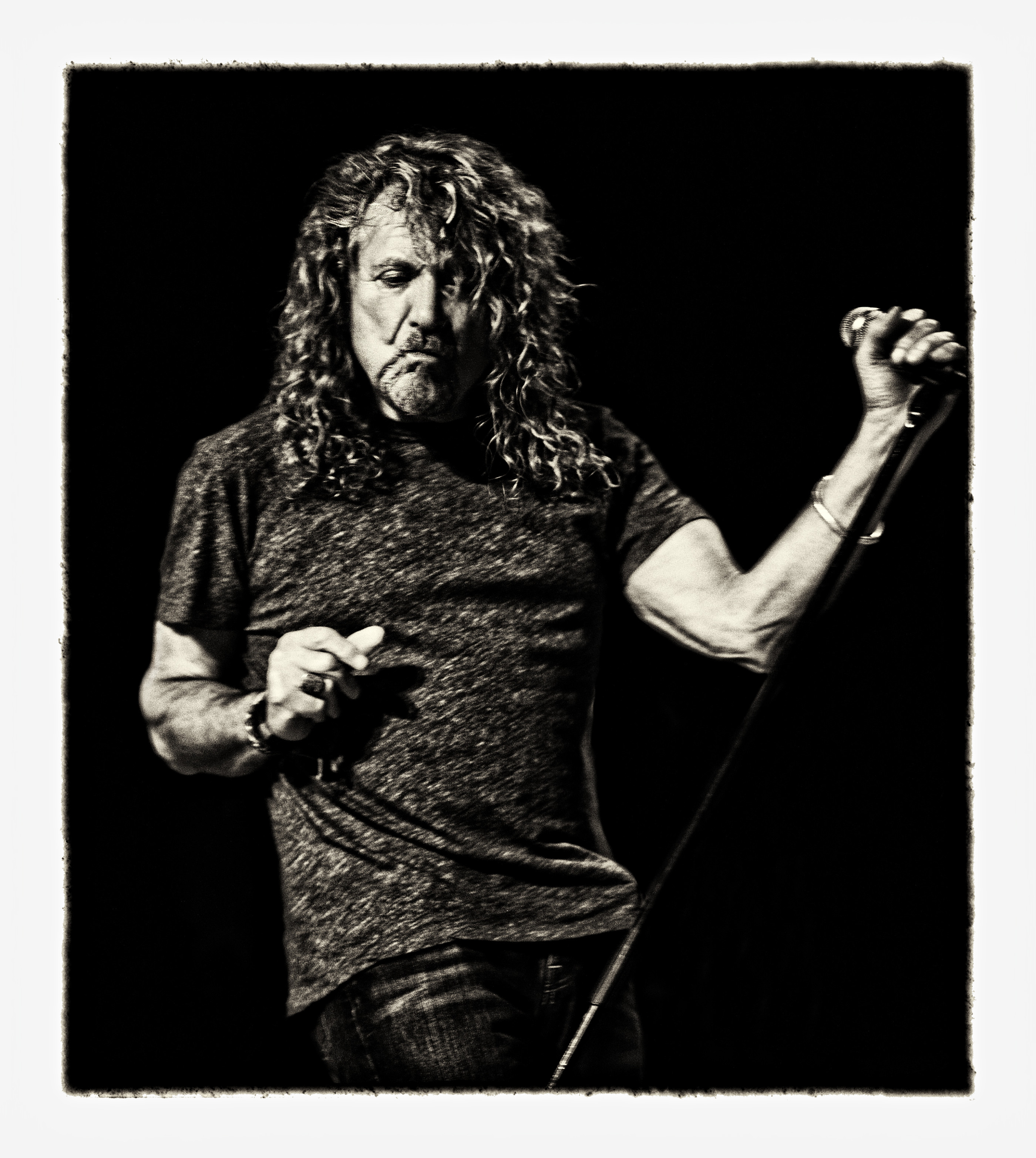 Robert Plant by Ash Newell Photography