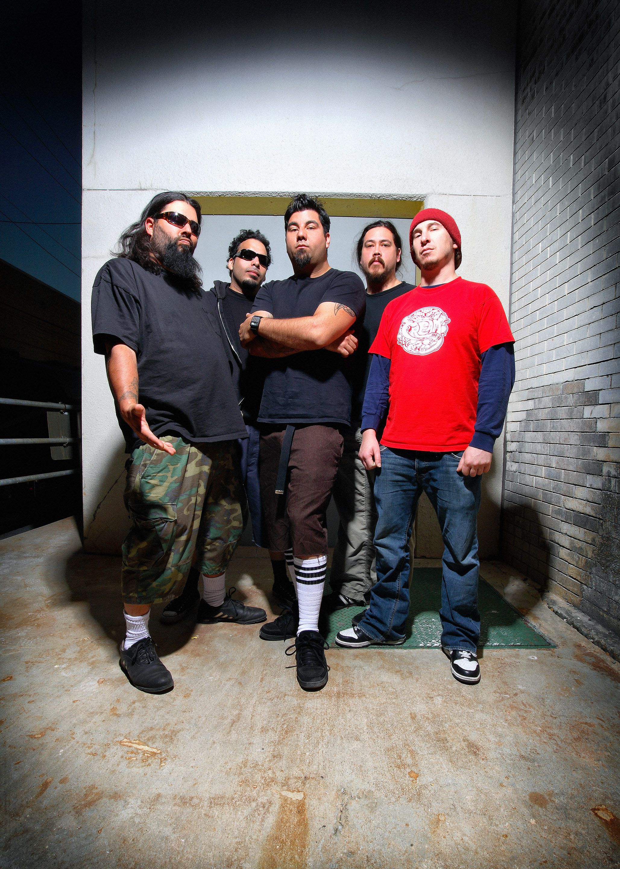 Deftones 2006 © Ash Newell Photography