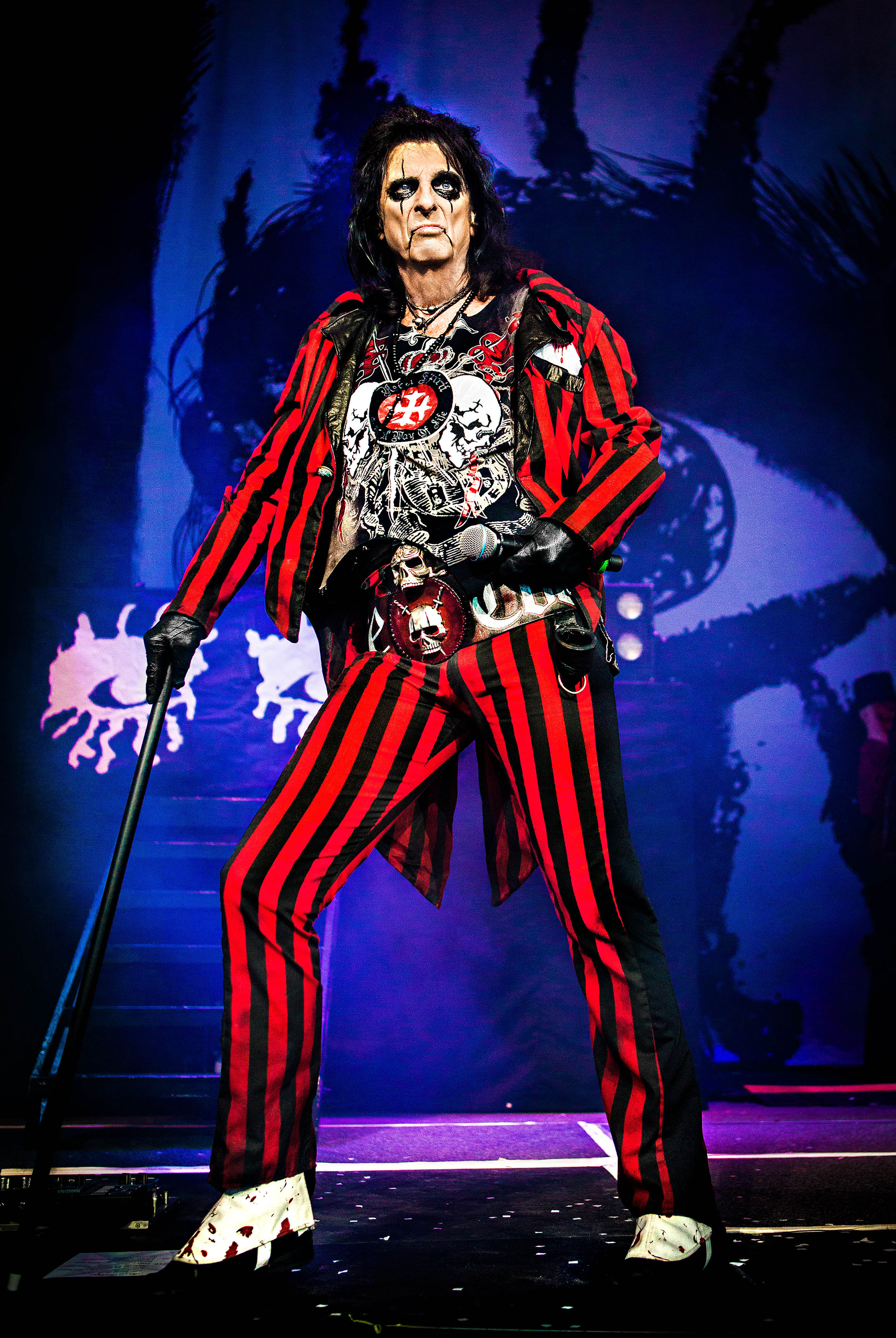 alice cooper � indianapolis 2014 ash newell