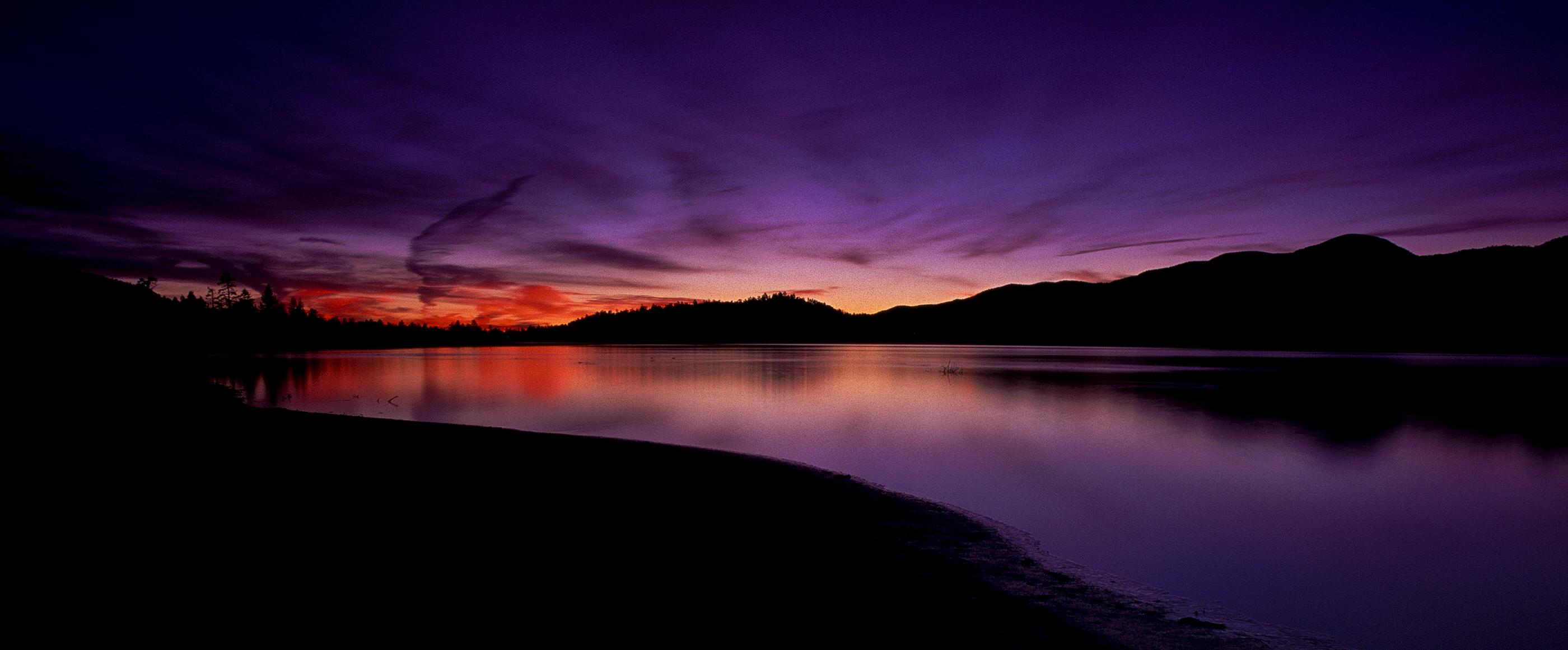 big bear lake sunrise