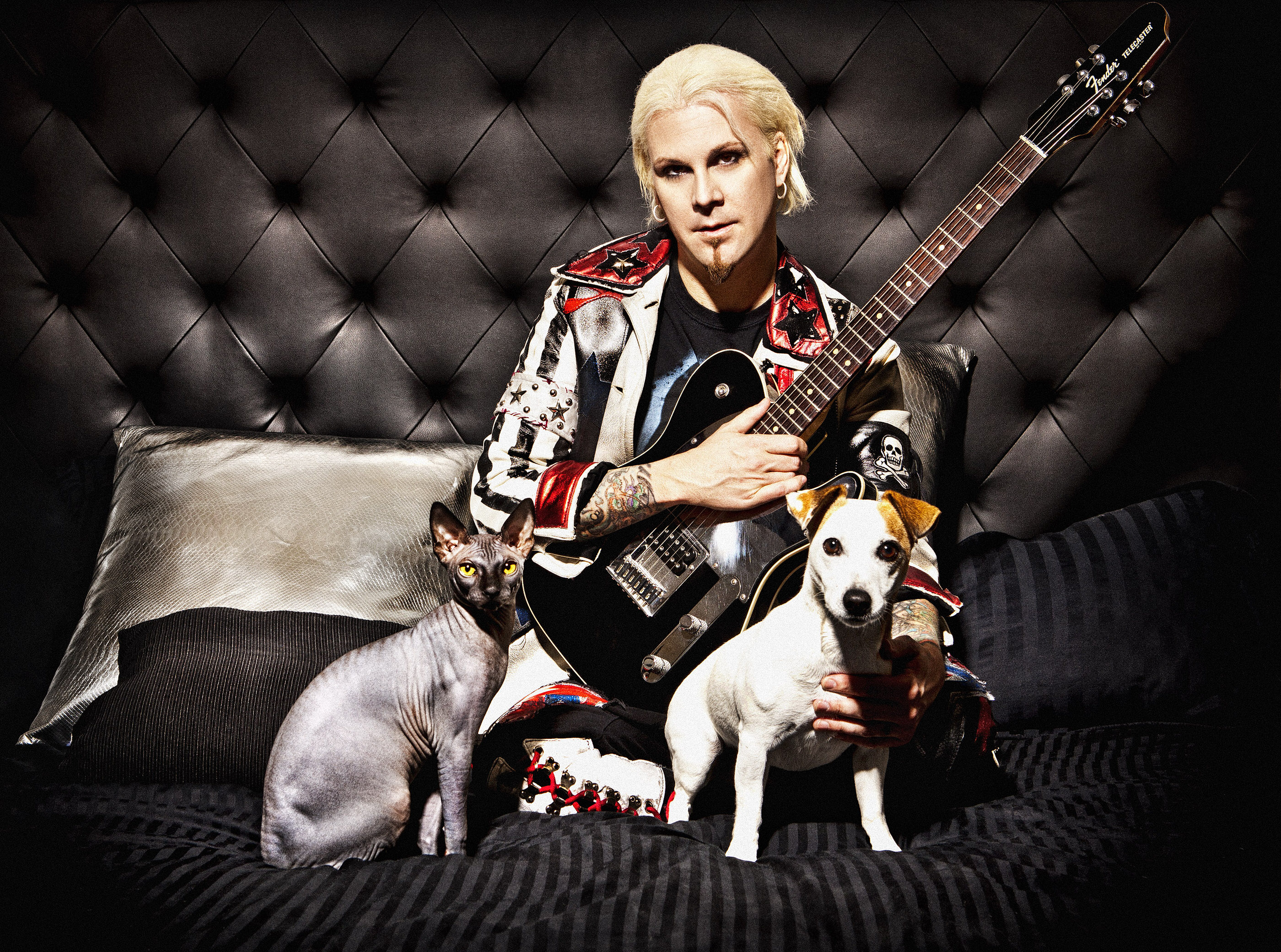 John 5 & Pets by Ash Newell Photography