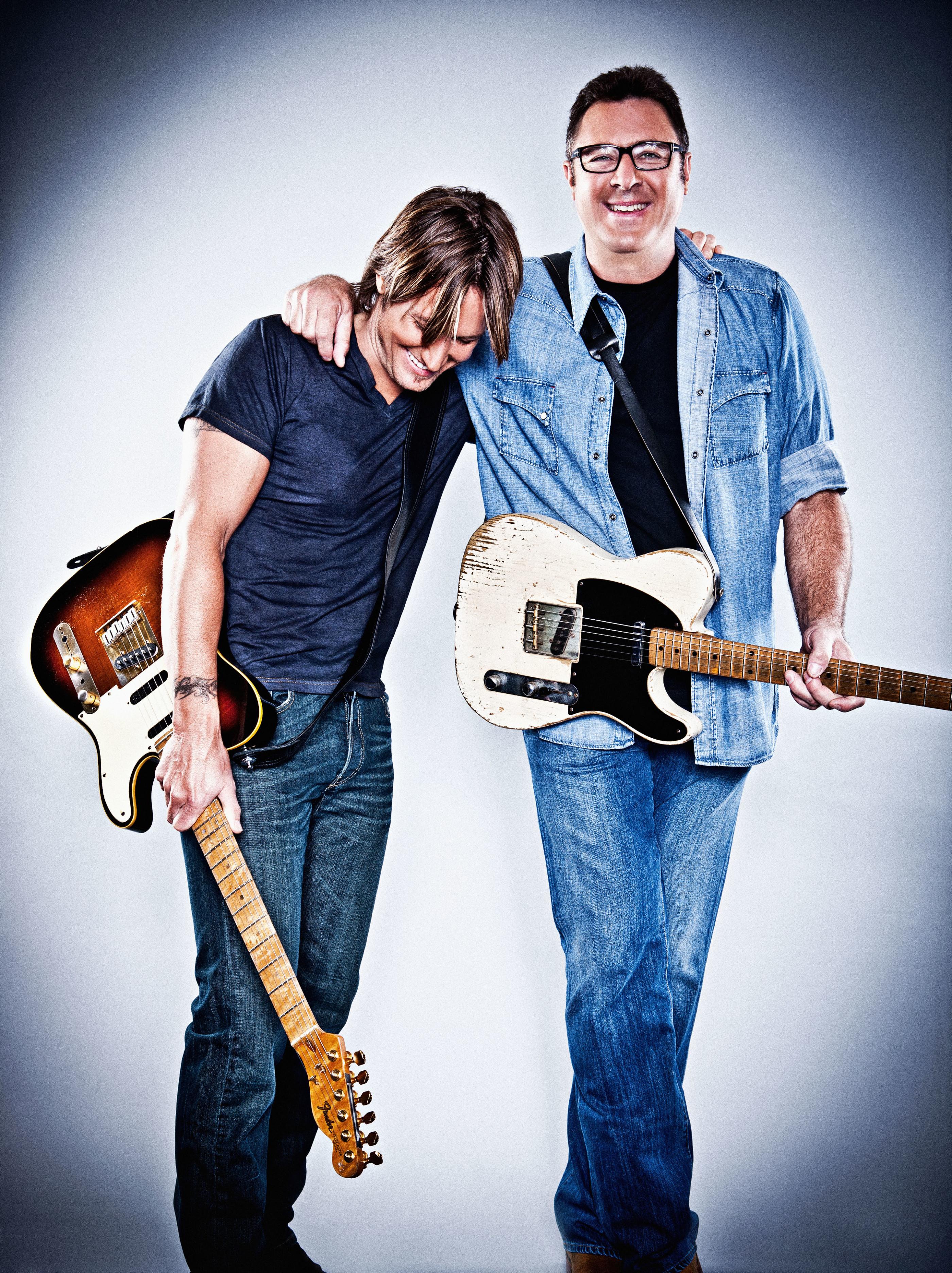 Keith Urban and Vince Gill