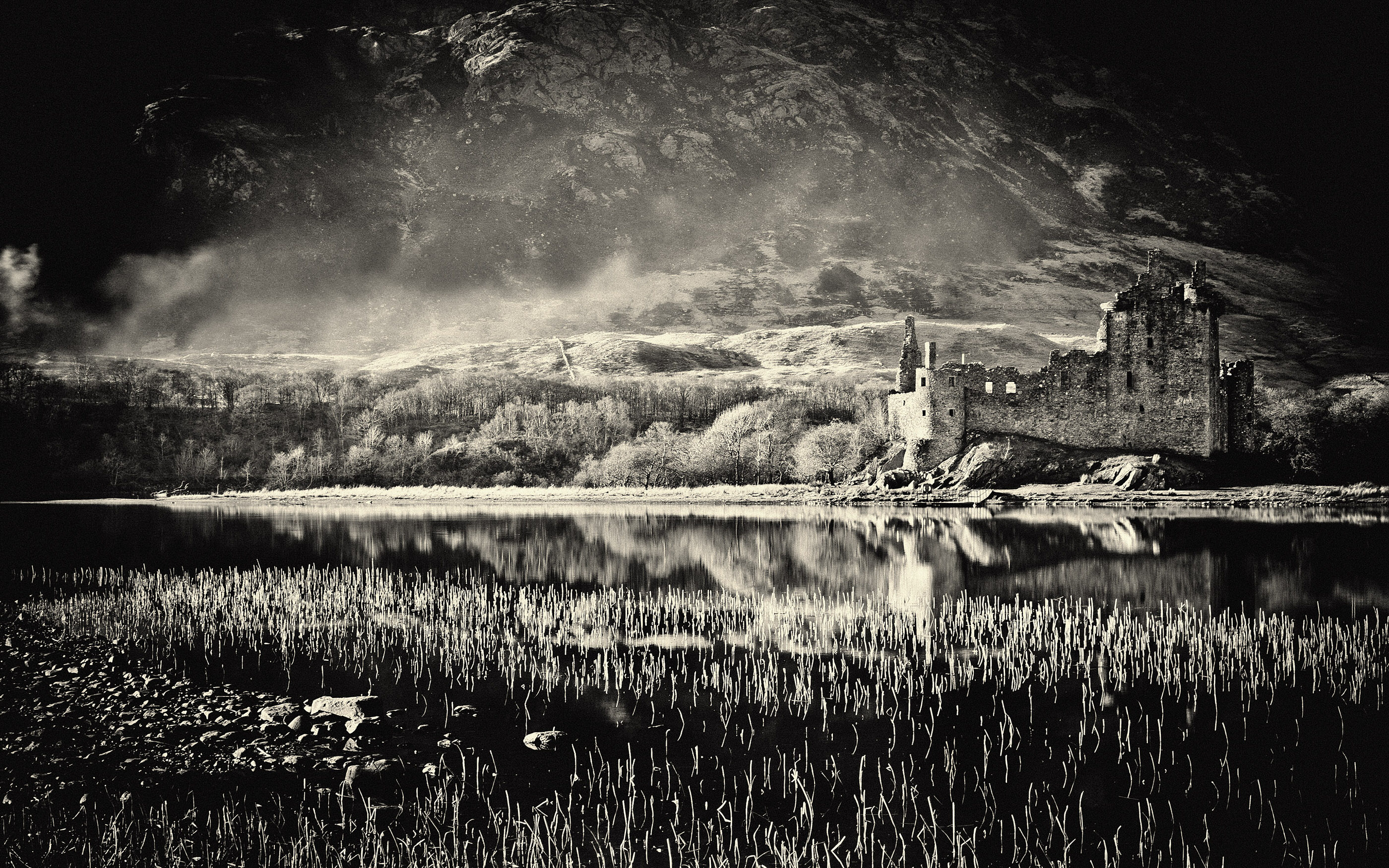 Kilchurn Castle Scotland by Ash Newell