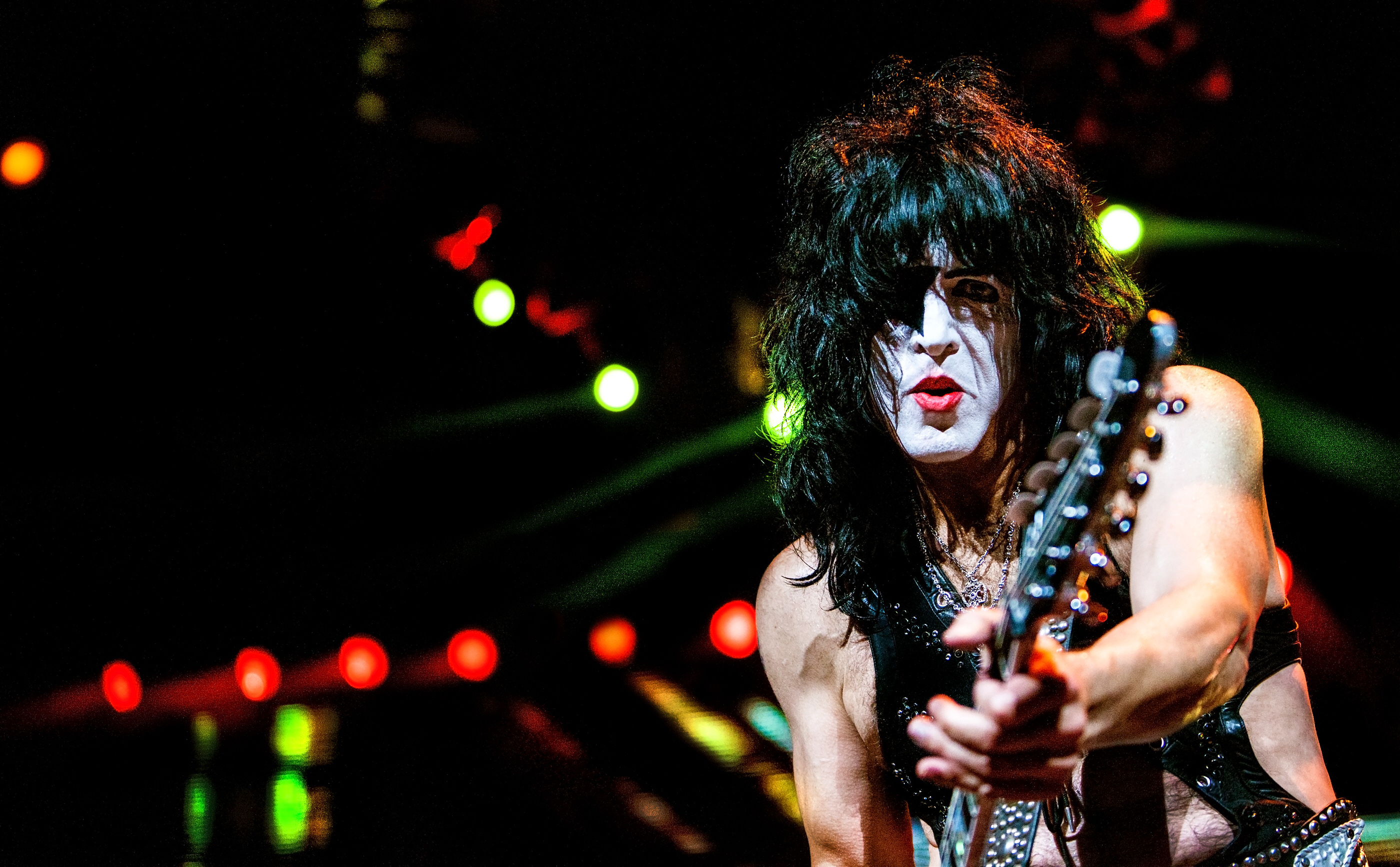 Paul StanleyKISS Charlotte 2014