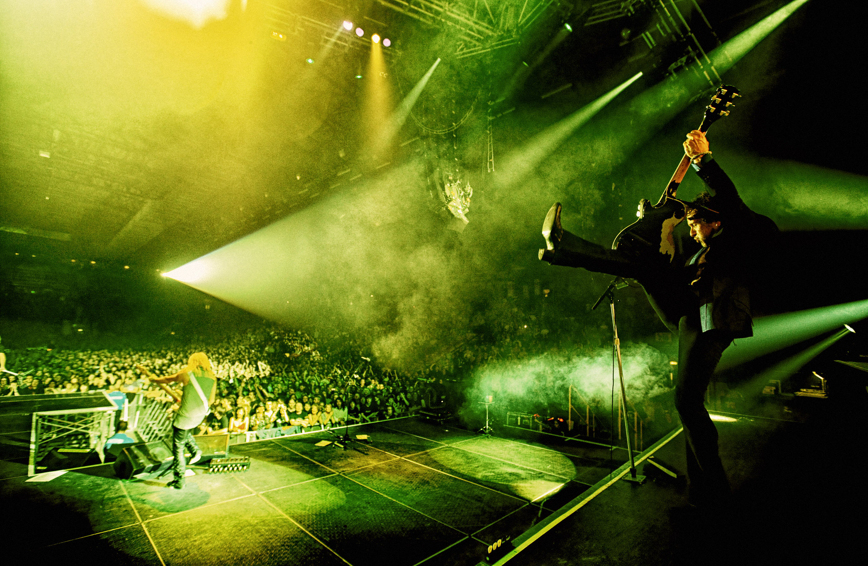 Vivian Campbell Newcastle 2008 by Ash Newell Photography