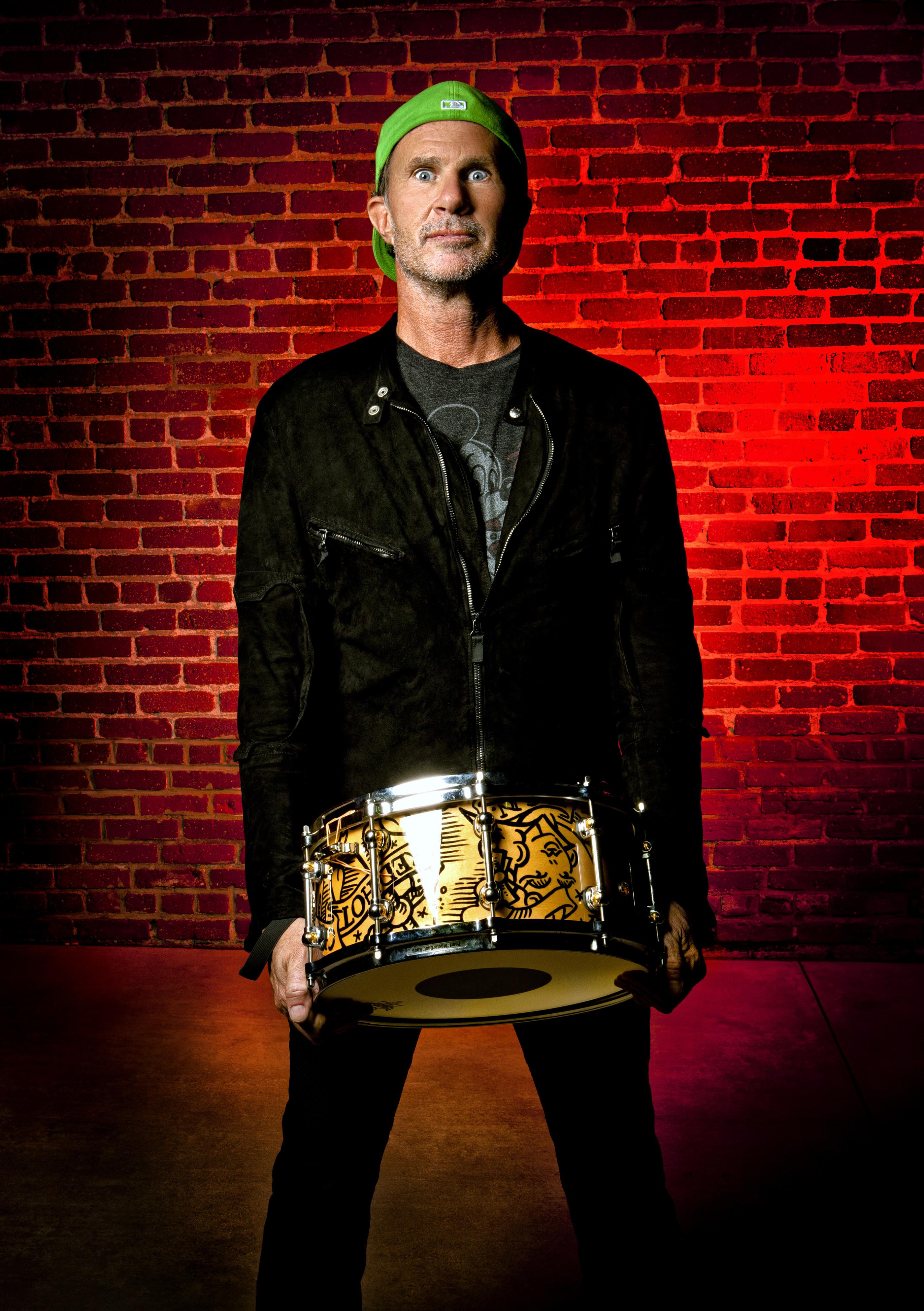 Chad Smith Modern Drummer © Ash Newell