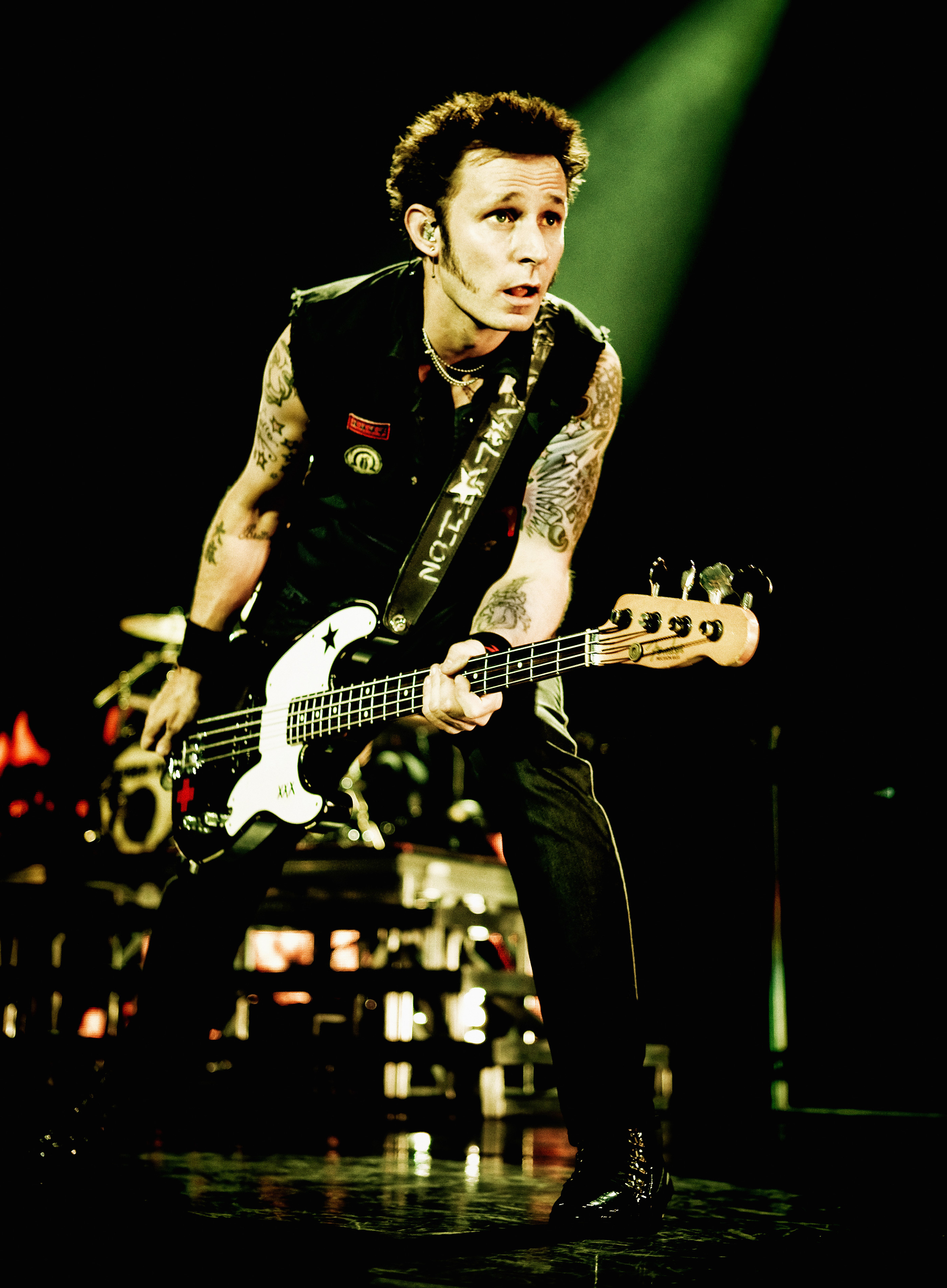 Mike Dirnt Fender Shoot by Ash Newell