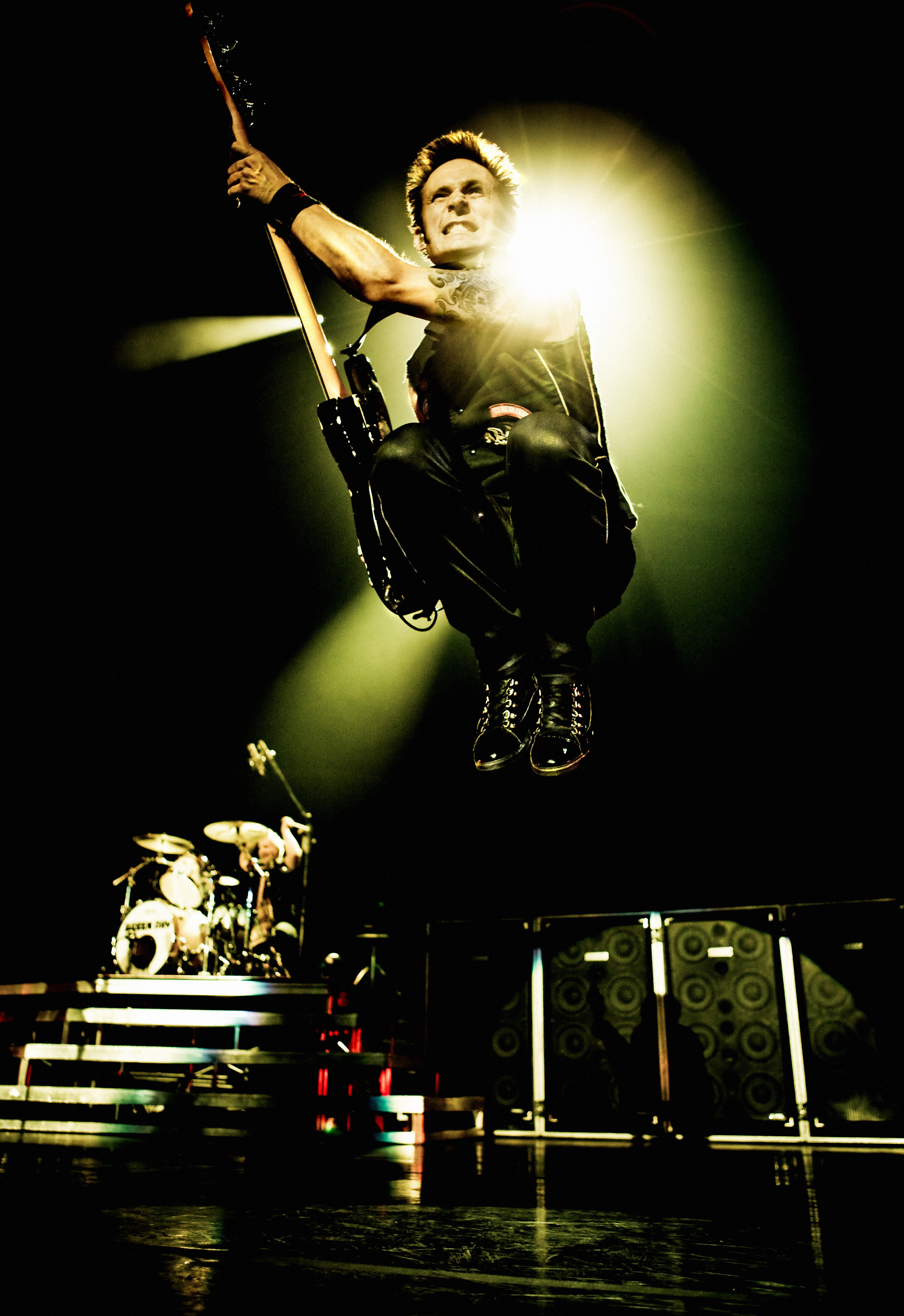 Mike Dirnt by Ash Newell