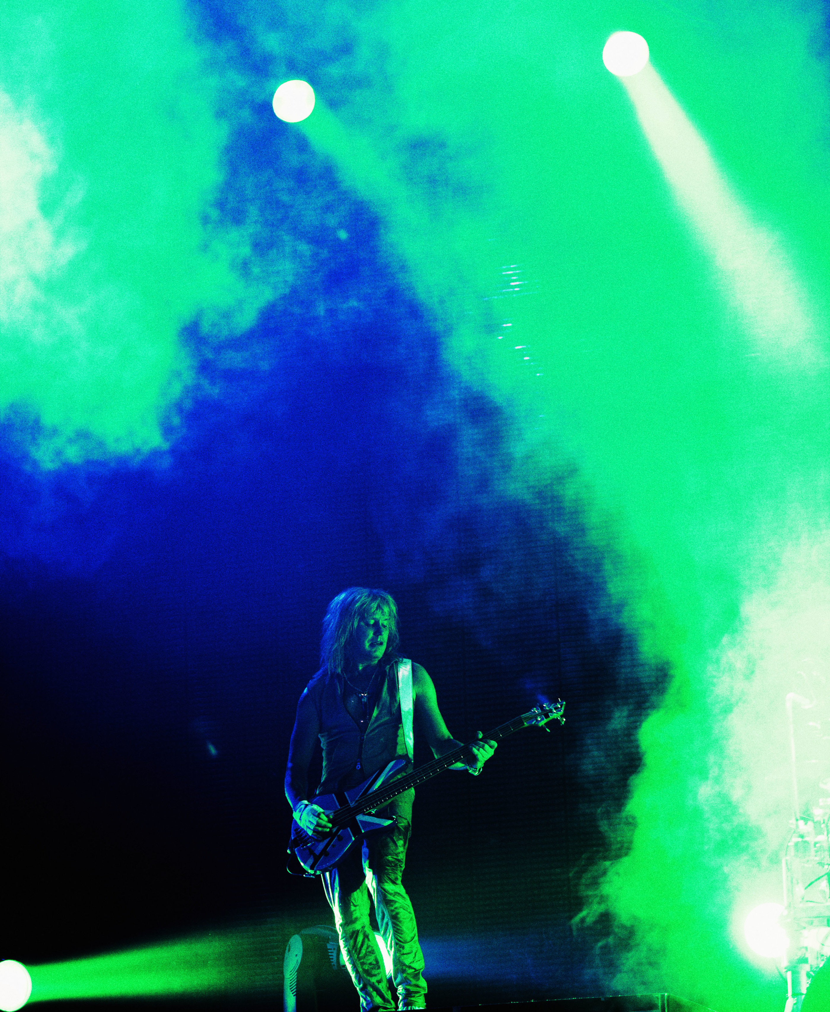 Rick Savage def leppard sheffield england in 2008 photographed b