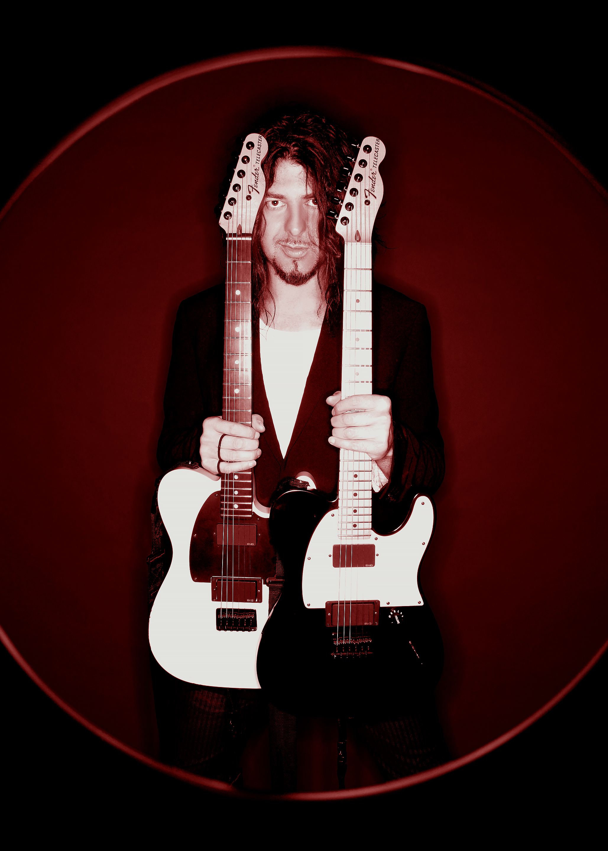 Jim Root Twin Telecasters 2007