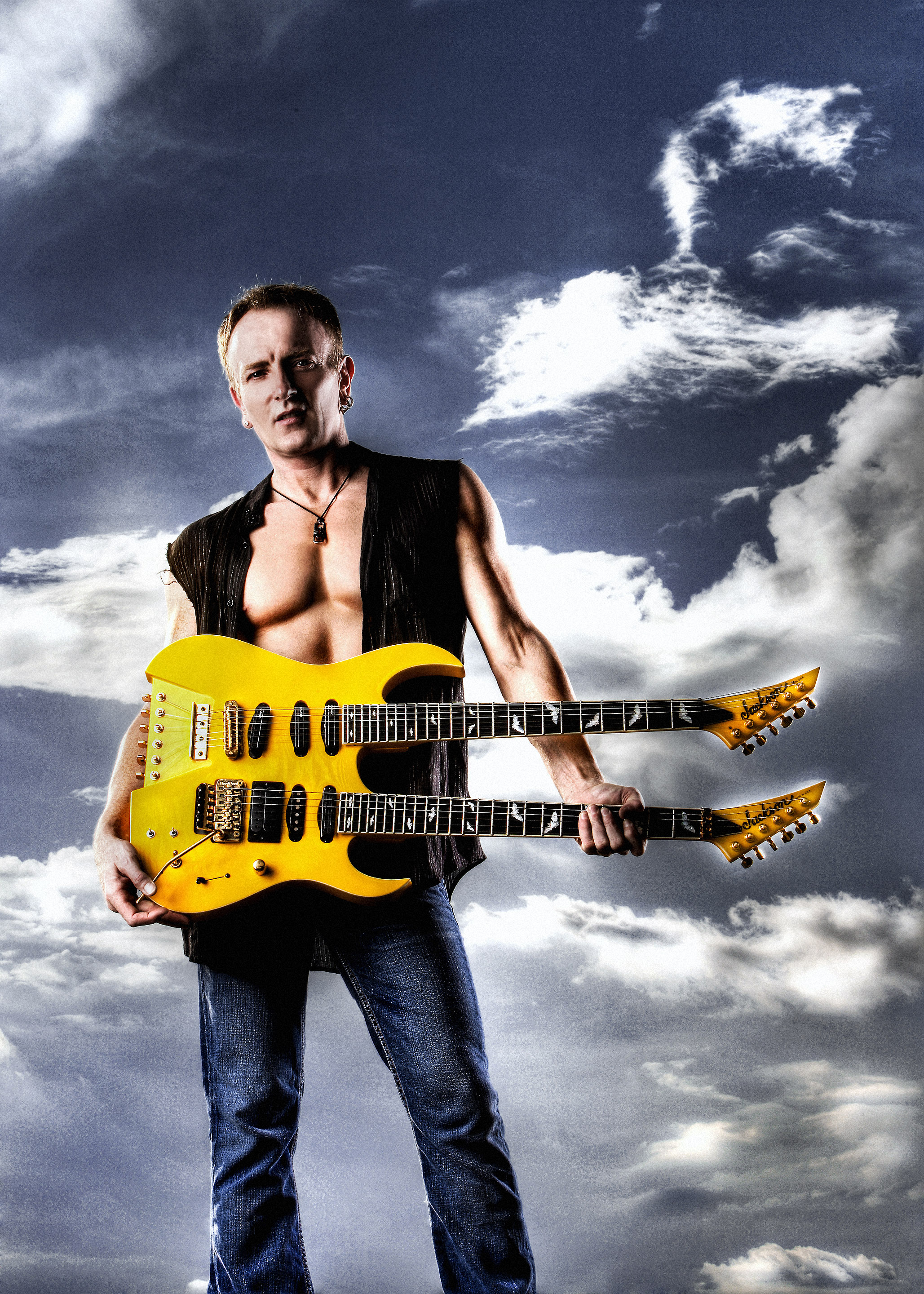 Phil Collen 2007 Steve Clark Guitar © Ash Newell Photography