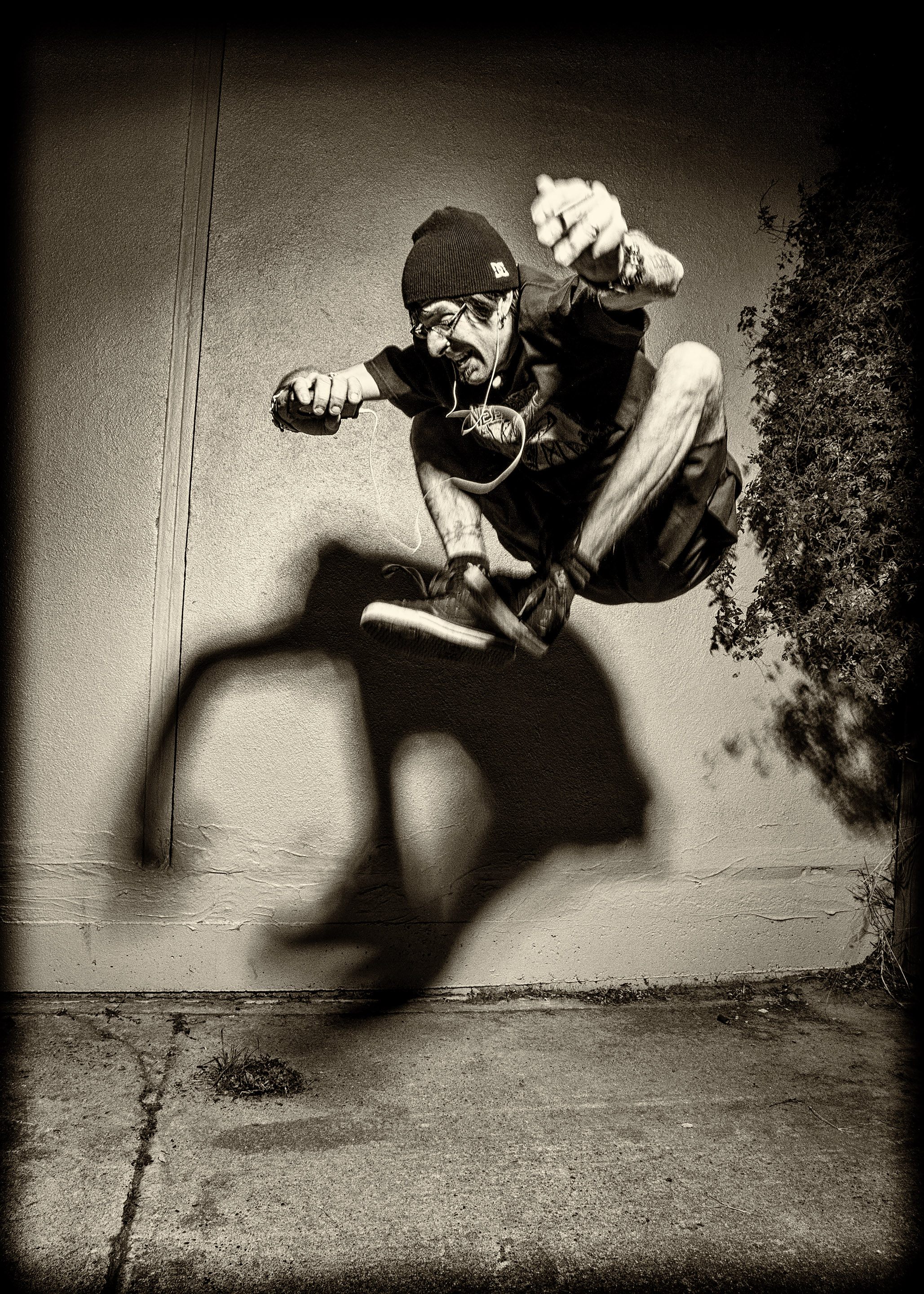 Randy Blythe Jumping by Ash Newell Photography