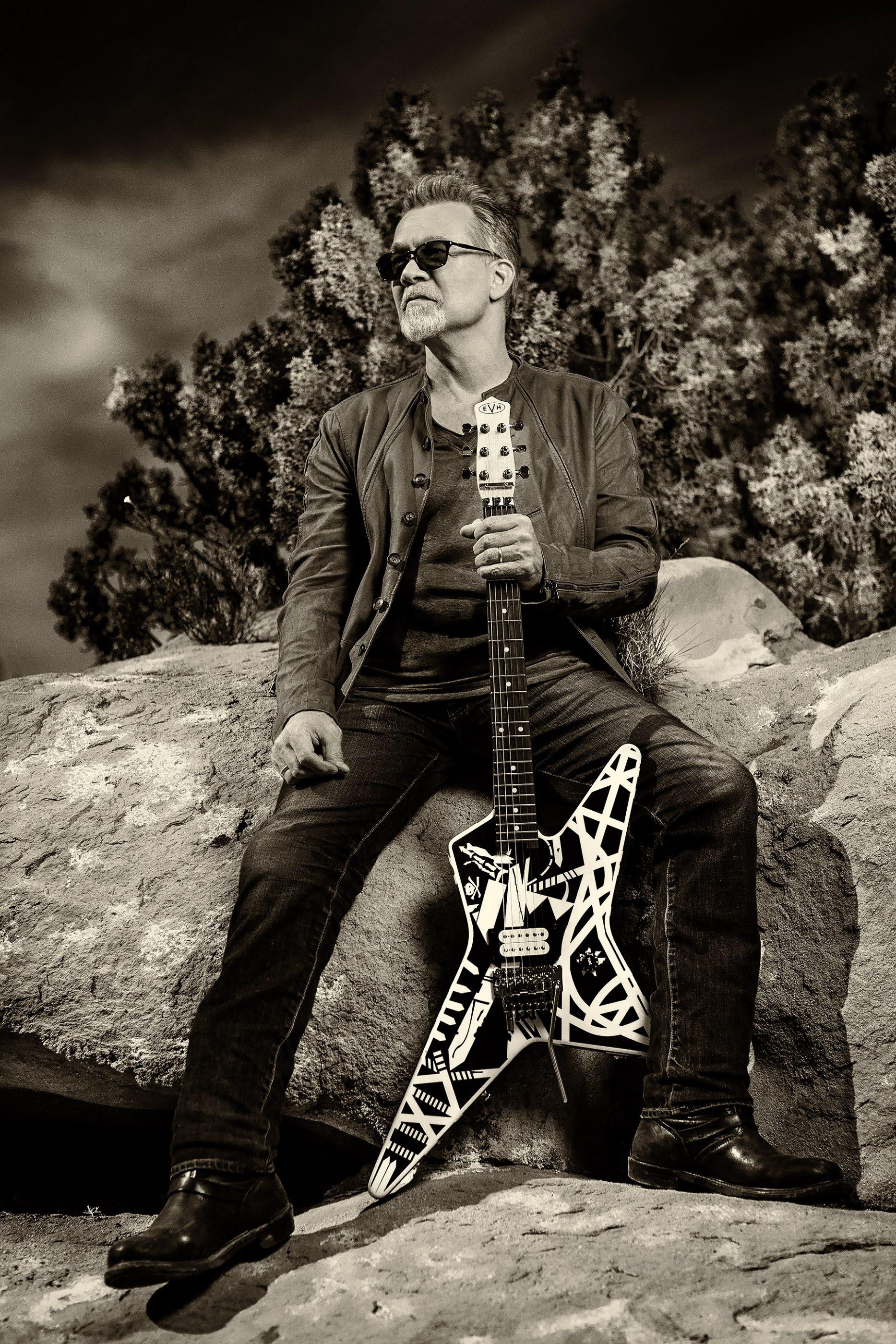 Eddie Van Halen 2015 Guitar World by Ash Newell Photography