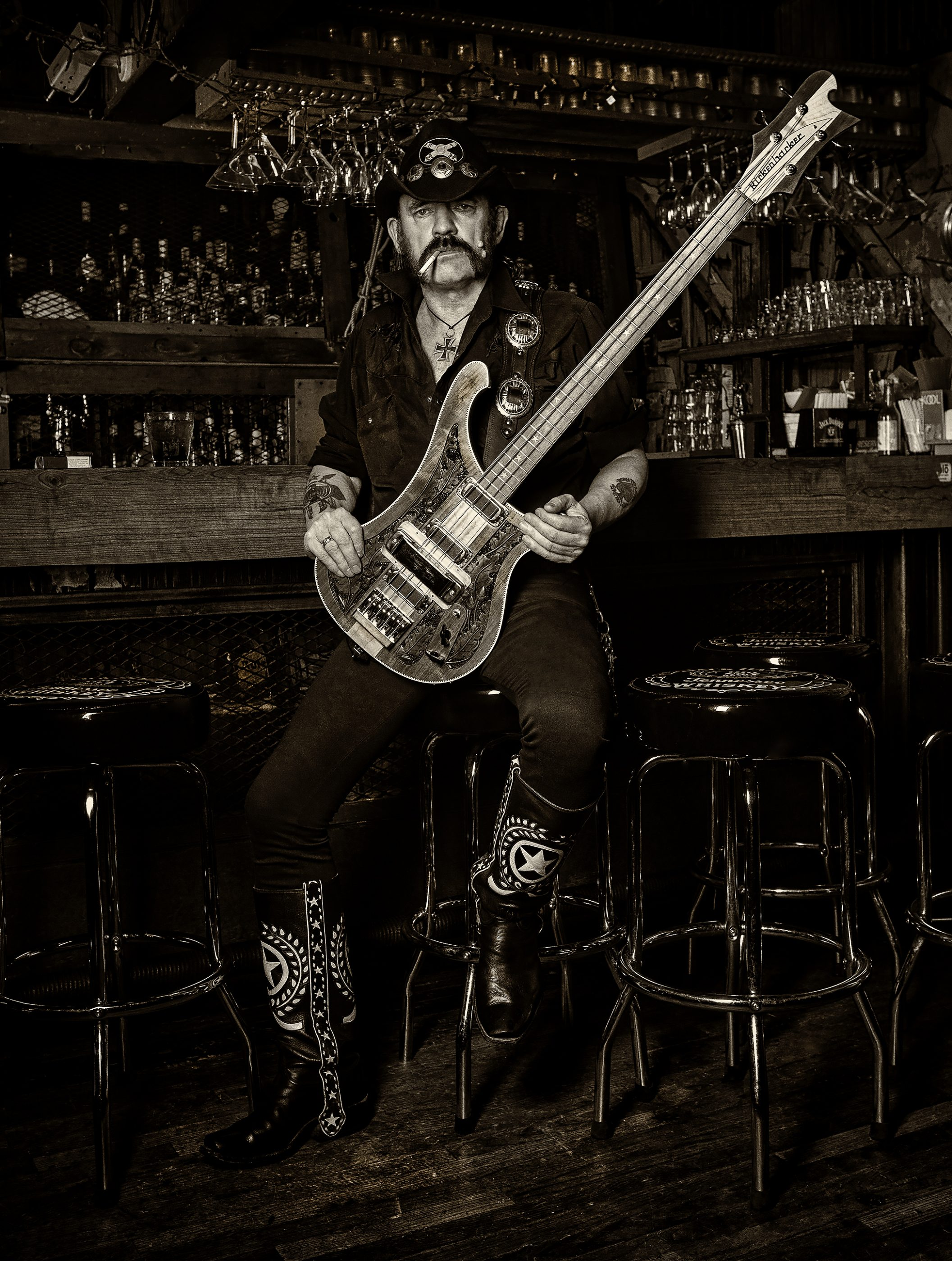 Lemmy Kilmister 008 © Ash Newell